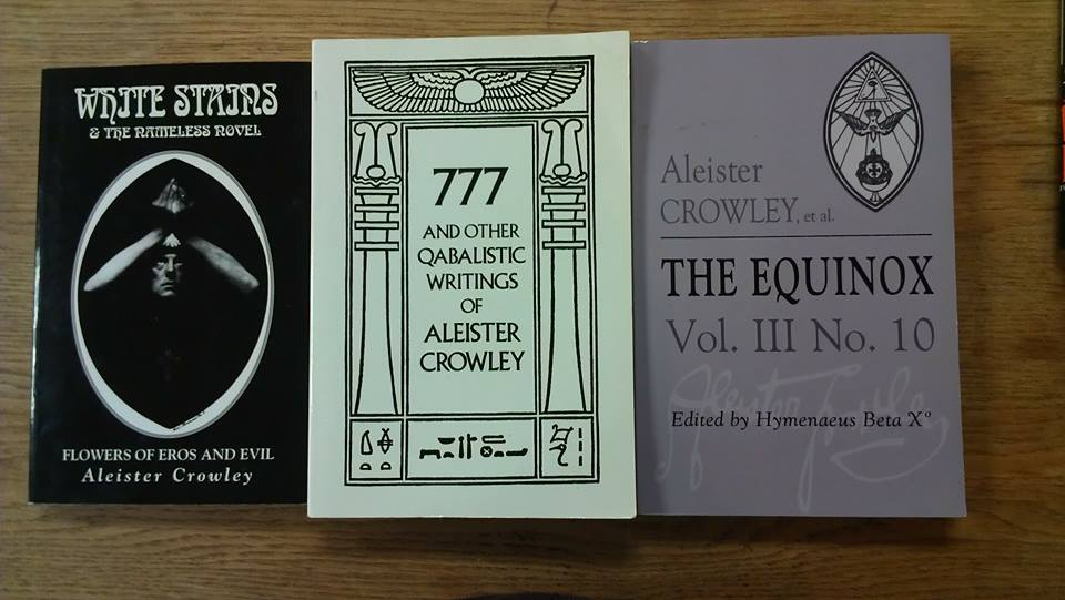 Aleister Crowley Books
