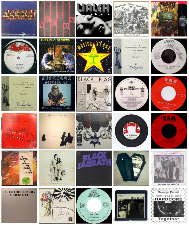 Most expensive items sold in Discogs Marketplace for June 2014
