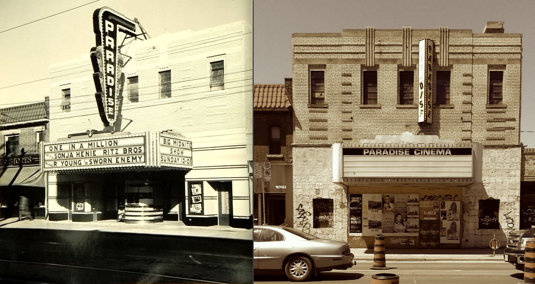 Paradise Theatre 1937 vs Now