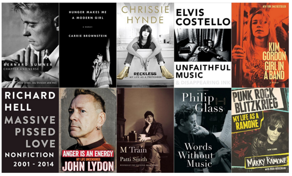 Top Ten Music Biographies of 2015
